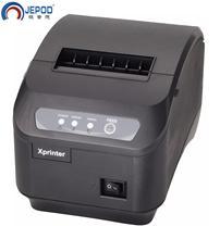 "XP Q200II 80mm שולחן העבודה תרמי קבלת מדפסת אופציונלי ממשק USB + סידורי/LAN 200 מ""מ\שנייה גבוהה מהירות ביל פרינר עם חותך אוטומטי"
