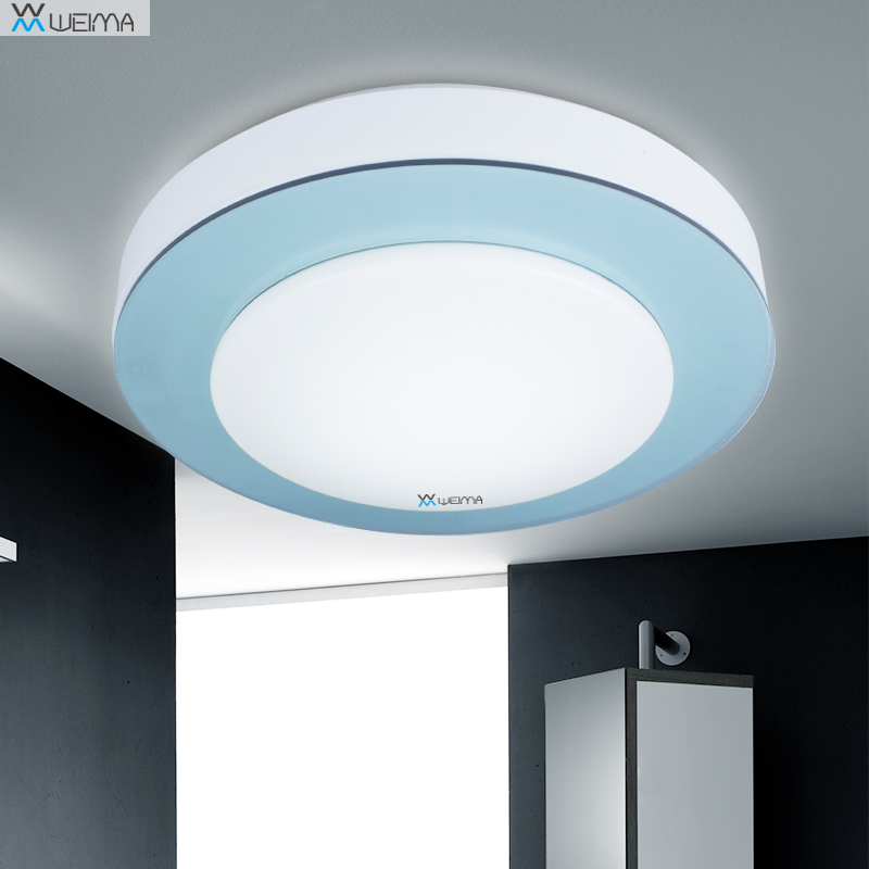 acrylic minimalist modern LED ceiling lamps kitchen bathroom bedroom balcony corridor lamp lighting study ceiling lights modern minimalist style iron round led living room ceiling lamp bedroom entrance hall balcony corridor lighting