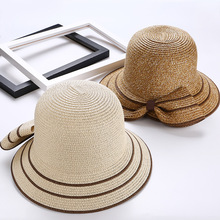 9dc162ed99a 2018 Limited Gorra Hombre Military Hat Bob The Summer Hat Lady Split Bow  All-match