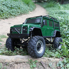 Dubbele Adelaar E328-001 1/8 2.4G 4WD Rc Auto Rock Crawler Klimmen Voertuig w/LED Licht RTR Model(China)