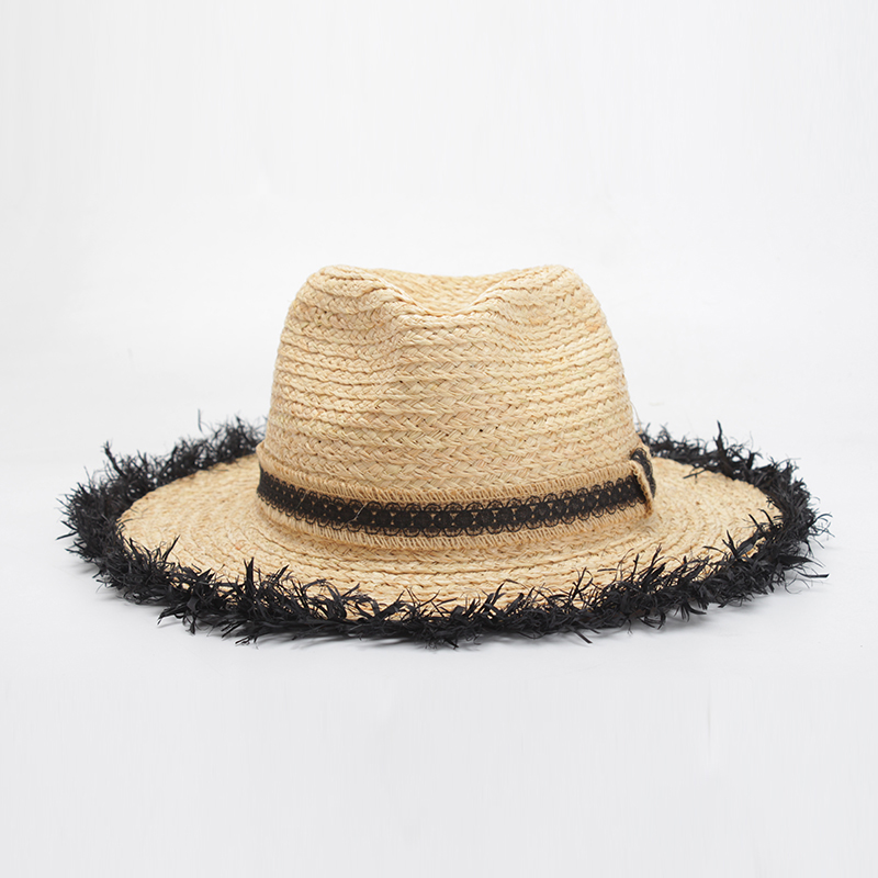 ROSELUOSI Summer Women Hat 2018 New Straw Hats Ladies Panama Beach Hat  Female Cap For Vacation Casquette Femme Ete-in Sun Hats from Apparel  Accessories on ... a718c07ab87e