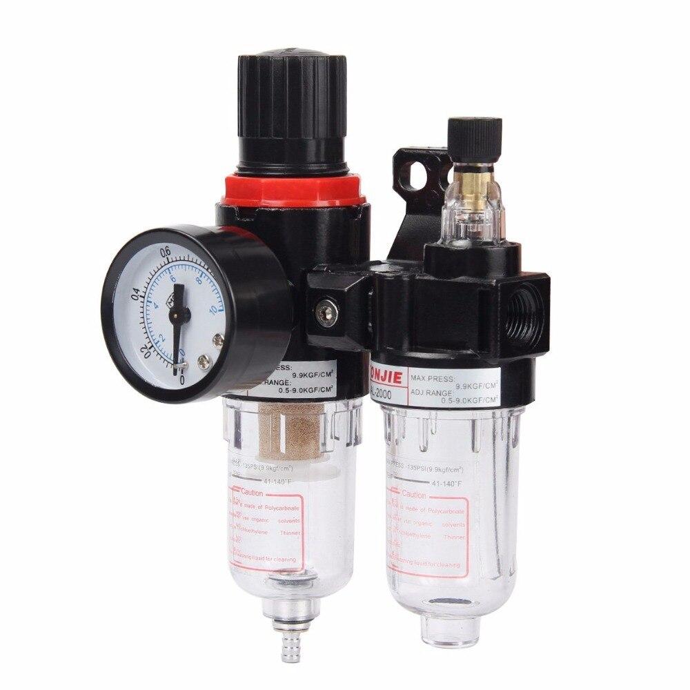 AFC2000 filtering pressure reducing valve oil-water separator duplex AFR2000 + AL2000 oil-water filter