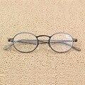 Full metal marco de las lentes de cristal femenina masculina Gafas Mujeres Hombres Gafas de Lectura 1.0 1.5 2 2.5 3 3.5 4