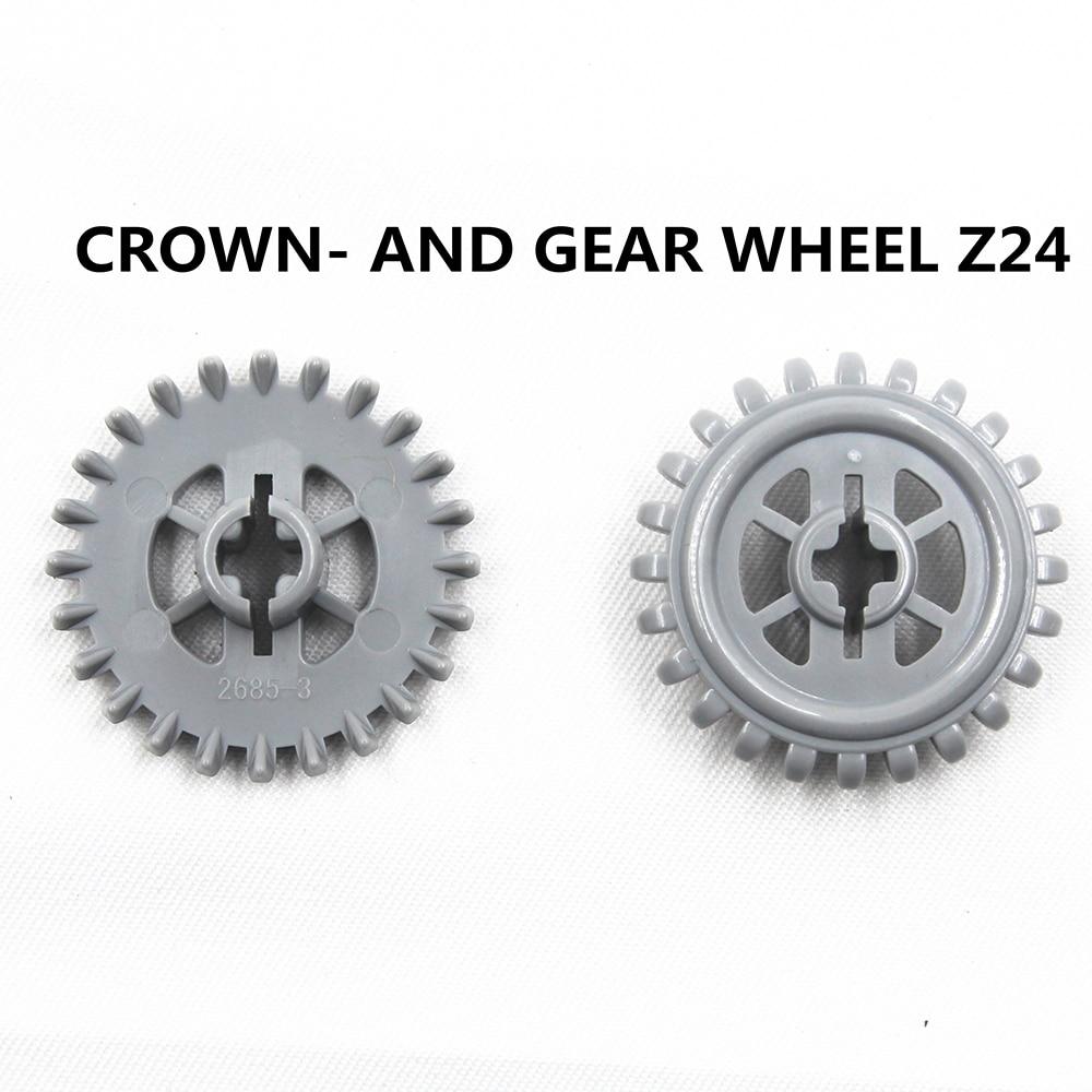 10x Lego ® Technic 94925 Gear//Gears 16 Teeth NEW-Light Grey New Grey Gear