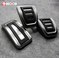 Stainless steel Car pedal Cover For Volkswagen VW Polo Bora Jetta Golf 4 MK4 IV Jetta MK4 Lavida Audi A1 A3 TT Skoda Fabia Rapid