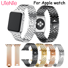 Smart watch band For Apple Watch 40mm 44mm 38mm 42mm strap for Apple Watch series 4 3 2 1 iWatch bracelet stainless steel strap