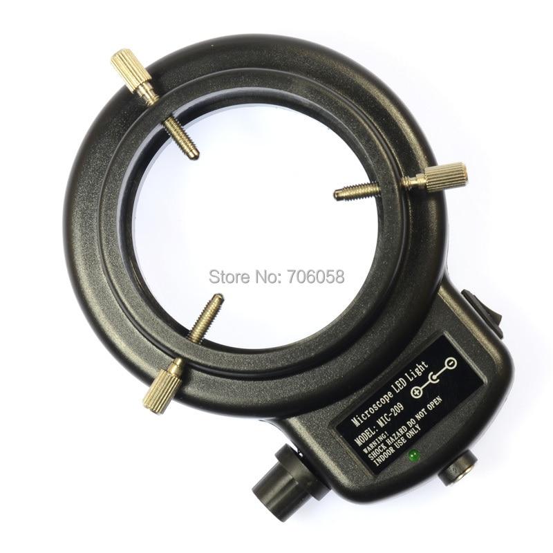 Állítható 6500K144 LED gyűrűs világító lámpa ipari sztereo - Mérőműszerek - Fénykép 2