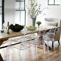Transparent Crystal Chair Funitue Wedding Chair Banquet Chair for Dinning Room Hotel Party or Gathering Outside or office