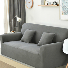 Modern Elastic Sectional Sofa Cover Furniture Solid Removable Couch Cover For Living Room Universal Dustproof Sofa Slipcovers sofa cover fabric thick sectional sofa towel universal sofa cover l shape slipcovers couch sofa furniture protectors dec