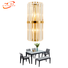 Modern Crystal Wall Lamp LED Wall Sconce Light Wall Lighting for Home Hotel Restaurant Living Dining Room Decoration