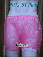 3 Pieces ADULT BABY Incontinence PLASTIC PANTS Transparent P012 5T Full Size M L XL