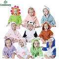 Newborn Baby Hooded Beach Towel Halloween Costumes Infant Boys Girls Bathrobe Baby Blanket Sleepers Bebe Animal Pajamas Homewear