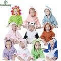Toalha de Praia Com Capuz Trajes de Halloween Do Bebê recém-nascido Infantil Meninos Meninas Roupão Cobertor Travessas Bebê Bebe Animal Pijamas Homewear