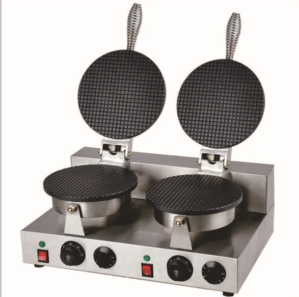 Electric Waffle Maker ~ Electric v double bakers commercial round thin