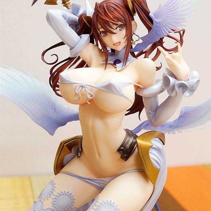 Native 27cm Pure white Magical girl RAITA Sexy Girls PVC Action Figures toys Anime figure Toys