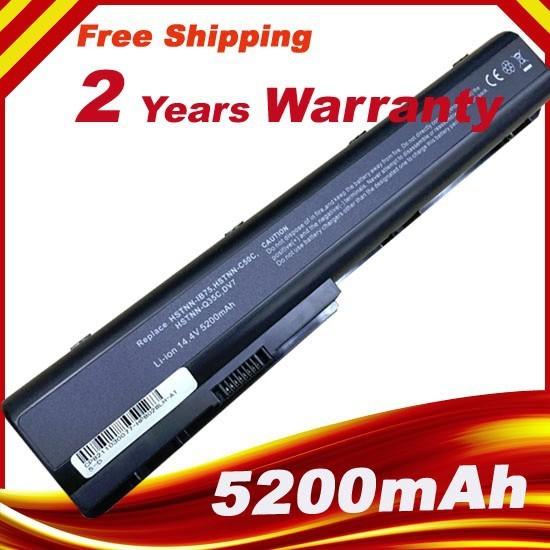 14.4 v 8 celdas de batería para hp pavilion dv7 dv8 hdx18 hstnn-ib75 hstnn-db75 hstnn-xb75 hstnn-c50c hstnn-q35c 464059-121 464059-141