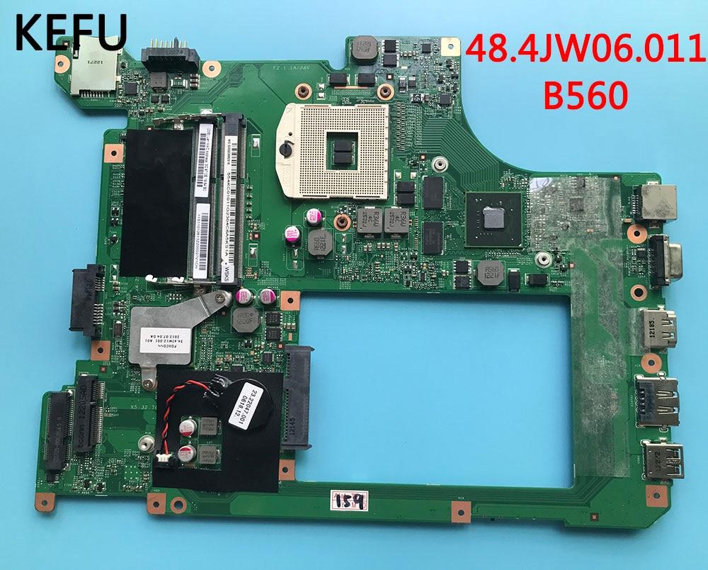 KEFU 48 4JW06 011 motherboard fit for lenovo B560 laptop motherboard hm55 fully tested working