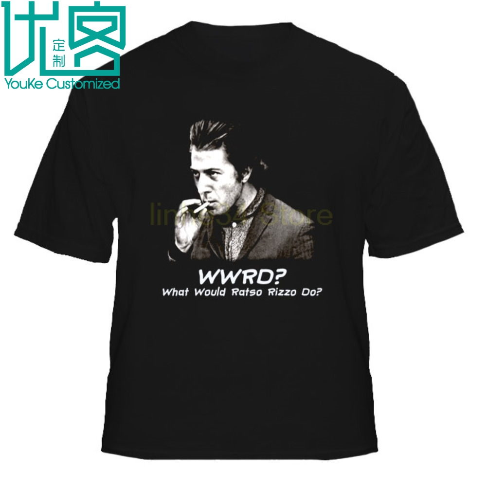 WWRD What Would Ratso Rizzo Do Midnight Cowboy Movie T Shirt image