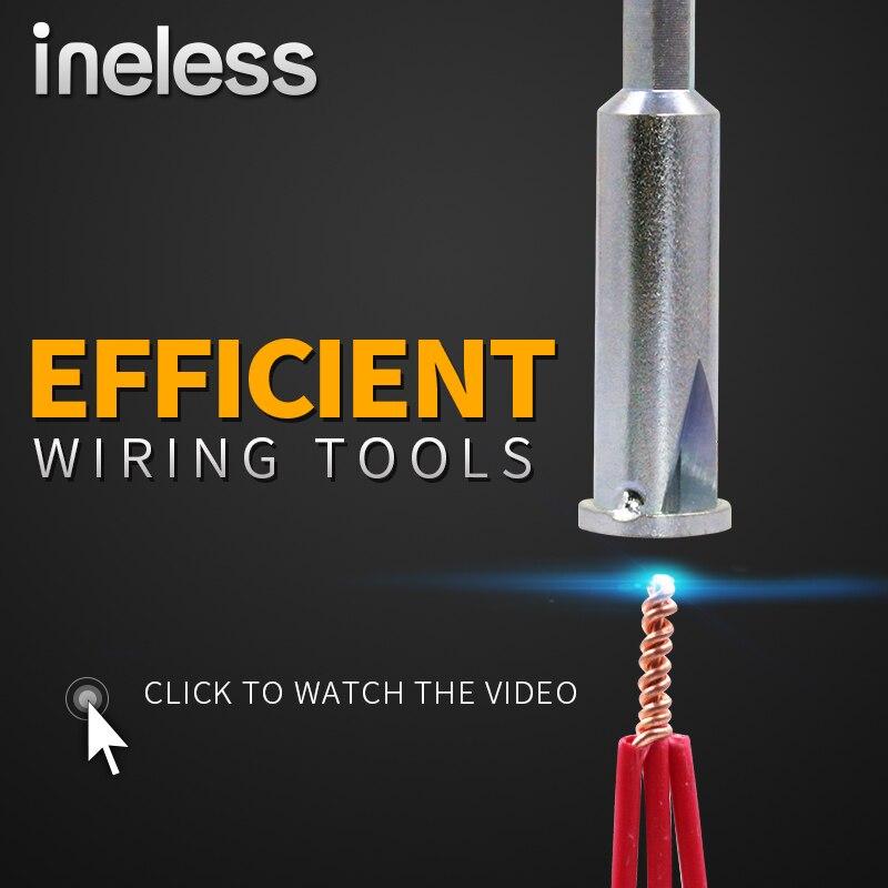 1 unids. 2,5/4 cuadrado Cable eléctrico Universal conector rápido Cable eléctrico paralelo conector rápido
