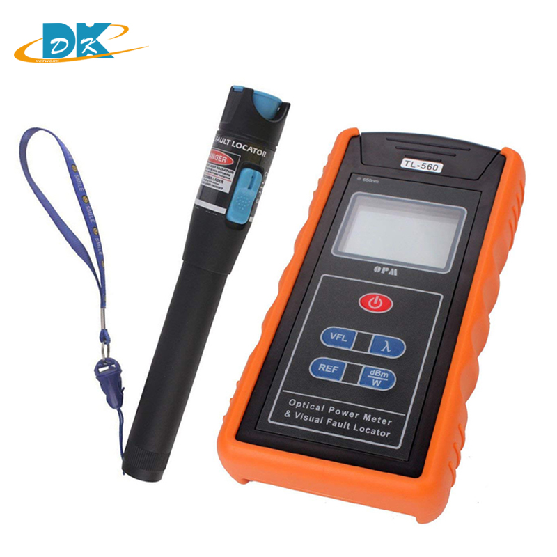 TL-560 tl512 optical light source -70-+10dBm Optical Power Meter With SC FC Connector and 10mW Visual Fault Locator 650nm