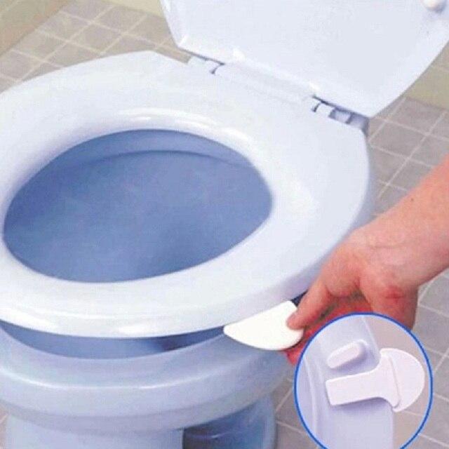 1Pcs White Cool Cover Lifter Portable Sanitary Home Garden ...