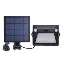 12 LED Split type Solar Lamp Light Outdoor Waterproof Street PIR Motion Sensor Security Lighting Wall Lamps