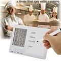 Digital Kitchen Timer, Cooking Timer, Loud, Handwritten Version, Magnet, Stand, White