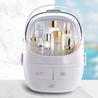Dropshipping Fornecedores Fashion Acrylic Cosmetic Case Women Travel Toiletry kits Makeup Bag Home Decor Organizer Storage Box