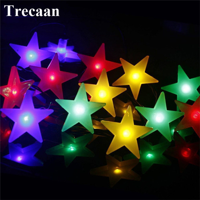 star 4m 20leds solar led string light energy save waterproof decorative fairy lighting for christmas