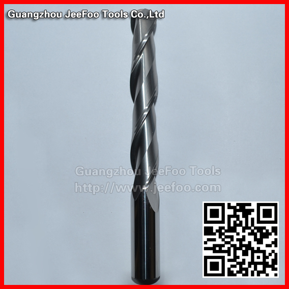 16*100*150L Two Flutes Carbide Ball Nose End Mills, CNC Milling Cutter, Router Bits,PVC, Machine Tool 16 100 150l two flutes carbide ball nose end mills cnc milling cutter router bits pvc machine tool