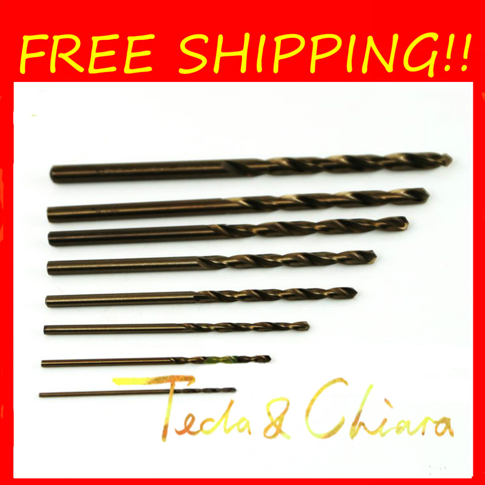 1Pc 10.5mm 10.5 HSS-CO M35 Straight Shank Twist Drill Bits For Stainless Steel Free shipping High Quality