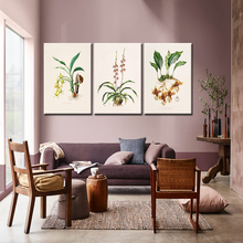 Chinese Style Canvas Painting Plants Flowers Nordic poster Landscape Art Wall Pictures For Living Room HD Posters And Prints romantic nordic flowers poster canvas painting wall art pictures for lving room hd posters and prints pink green home decorative