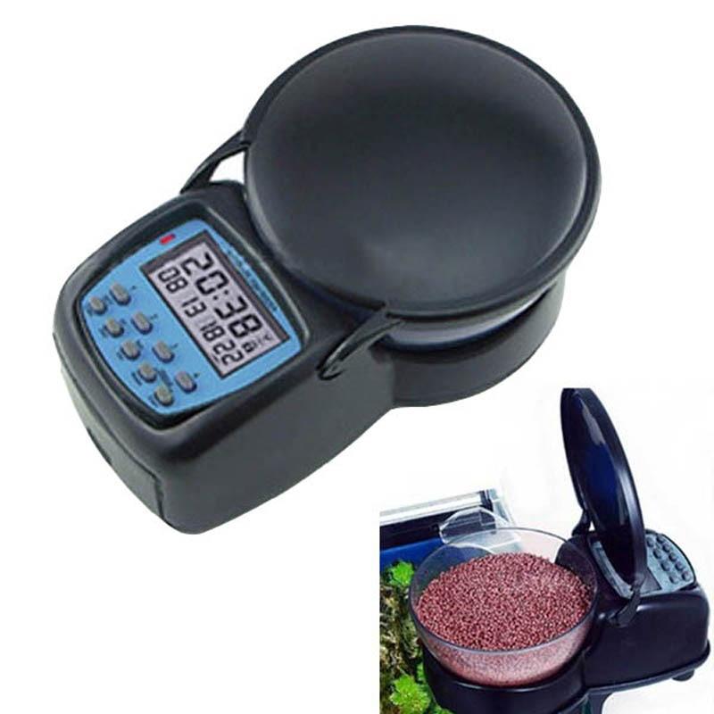 Automatic fish feeder auto digital aquarium automatic tank for Automatic fish tank feeder