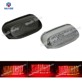 EMARK Motorcycle Rear Taillight Tail Brake Turn Signals Integrated Led Light For KAWASAKI ZX600E 1994 1995 1996 1997 1998-2004