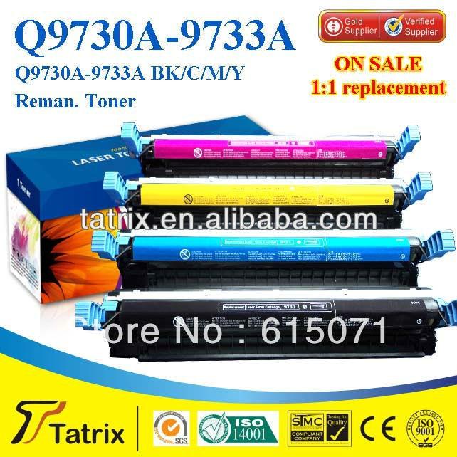 FREE DHL MAIL SHIPPING ,Q9730A Toner for HP Color Laserjet 5500 5500n Printer Toner Cartridge. Best Q9730A Toner