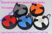 Bluetooth Sports activities Speaker Mountaineering Bicycle Curler skating Camp Discover Hike Out of doors Speaker Assist MP3 music FM Radio
