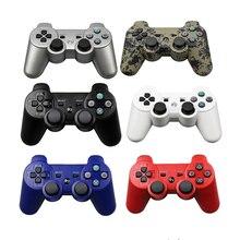 Controlador EastVita Gamepad inalámbrico Bluetooth para PS3, Joystick de juego de doble choque para consola playstation 3