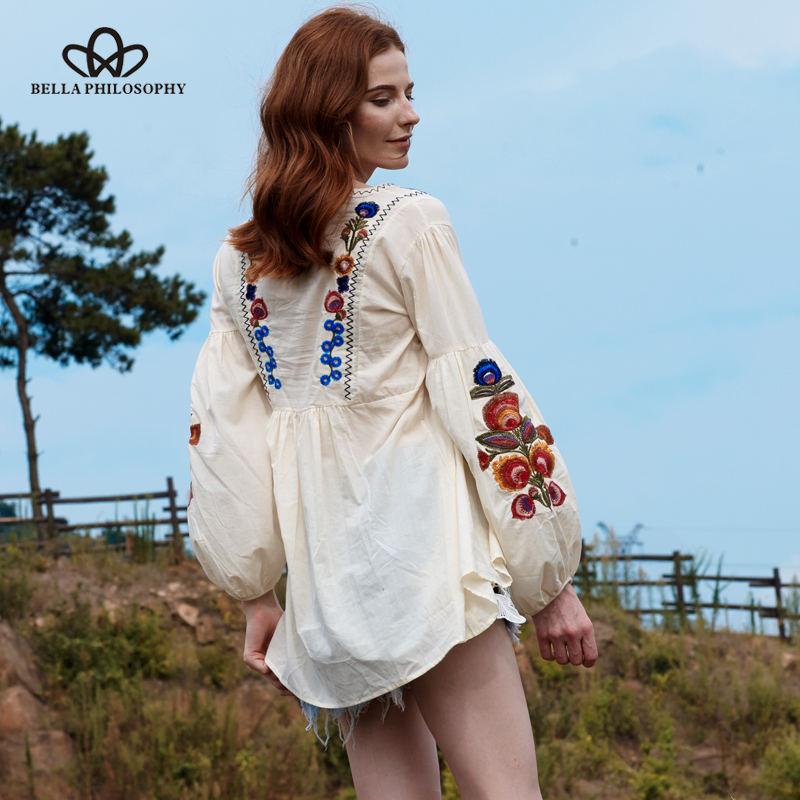 Bella Φιλοσοφία γυναικών καλοκαίρι boho - Γυναικείος ρουχισμός - Φωτογραφία 4