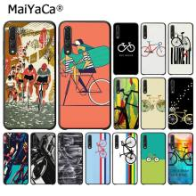 MaiYaCa BIKE CYCLING Art Soft Black Phone Case for Huawei P10 P20 LIte Mate20 Mate10 Lite P20Pro Honor10 9Lite Honor8X(China)