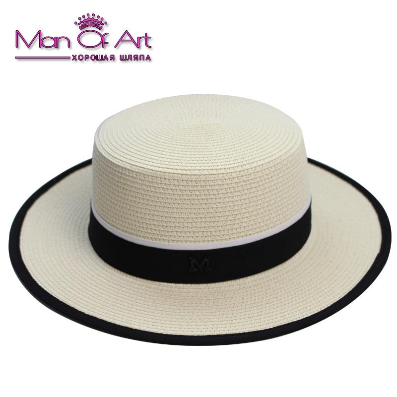 Nova moda Panama senčnik Lady Summer Klobuk za sonce z zložljivimi - Oblačilni dodatki