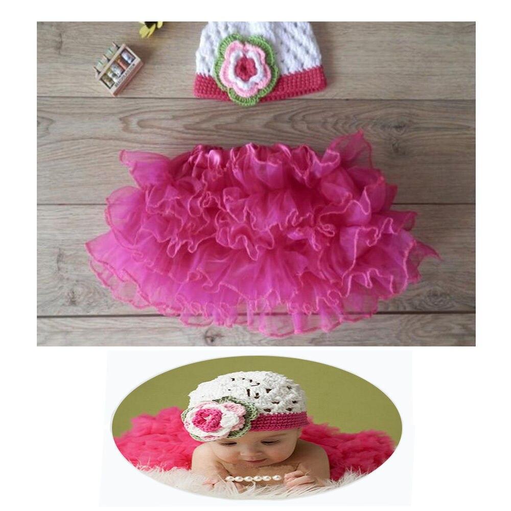 1 Satz Baby Handarbeit Neugeborene Fotographienstützen Baby Kleidung Hut Und Rock Belebende Durchblutung Und Schmerzen Stoppen