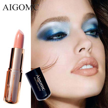 Aigomc Matte Lipstick 6 Colors Long Lasting Waterproof Lips Makeup Easy to Wear Nude Cosmetic Wholesale Beauty Nutritious Makeup