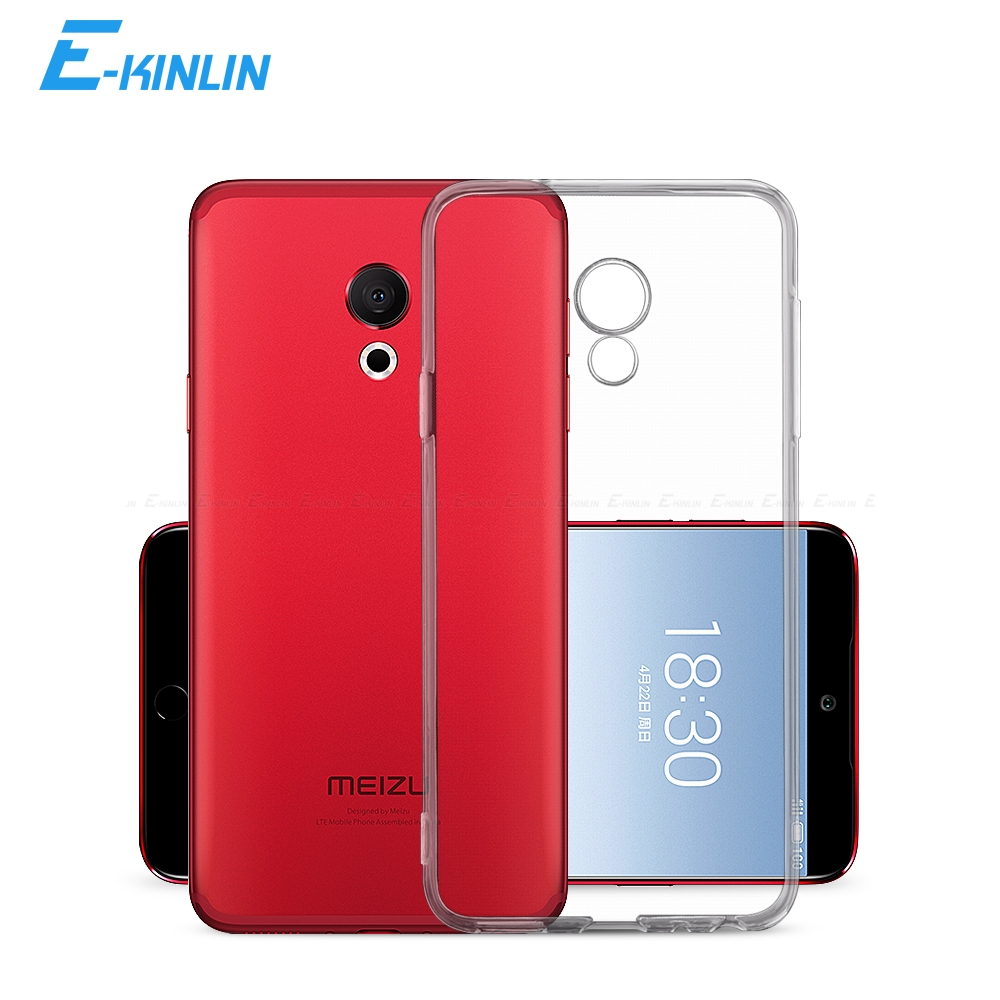 Clear Soft Silicone <font><b>Back</b></font> Full <font><b>Cover</b></font> For <font><b>Meizu</b></font> U20 U10 M3 M3x M3e <font><b>M3s</b></font> M5 M10 Note Mini Max E3 E2 A5 M15 Ultra Thin TPU Case image