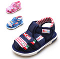 New Design 1pair Fashion Summer Children Girl/Boy Shoes inner length 12.5-15cm,Super Quality sound Kids Shoes