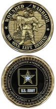 Custom coins low price US ARMY WOUNDED WARRIORS CHALLENGE COIN oem metal milirary FH810241