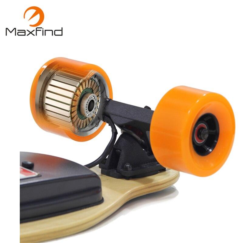 Motor de monopatín eléctrico Maxfind 90mm Motor de cubo sin escobillas de alta velocidad, Motor inteligente Micro autoequilibrado de 500 W para rueda