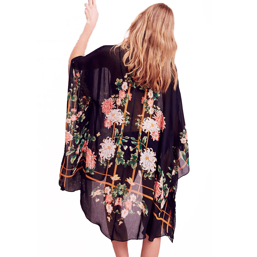 Online Buy Wholesale womens long kimono cardigan from China womens ...