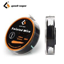 Original 5m GeekVape Twisted Atomizer DIY KA1 Tape Wire 26GA + Ribbon for Electronic Cigarette DIY Accessories Tape Wire