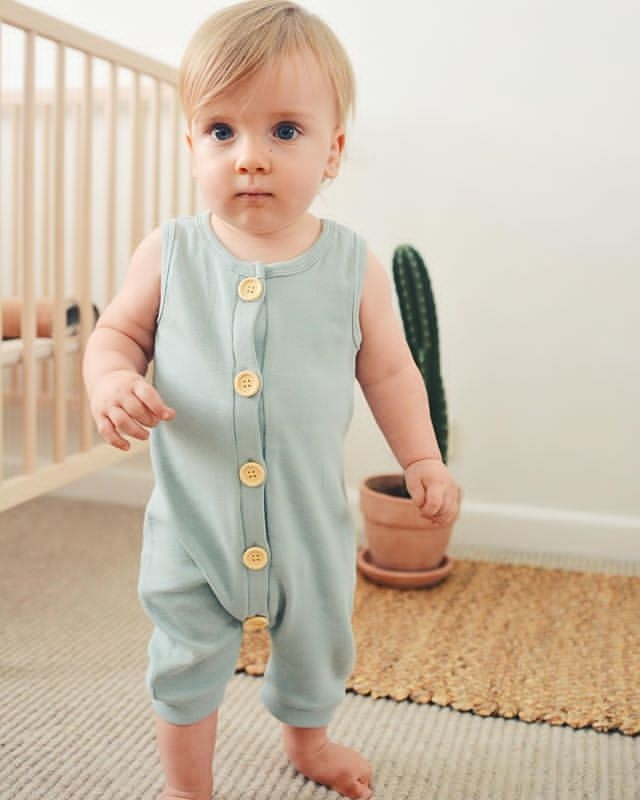 HTB129QTO7zoK1RjSZFlq6yi4VXaN 2019 Summer Solid Rompers Newborn Infant Baby Girl Boy Outfit Cotton Romper Jumpsuit Bebe Kids Ropa Sleevless Casual Clothes Set