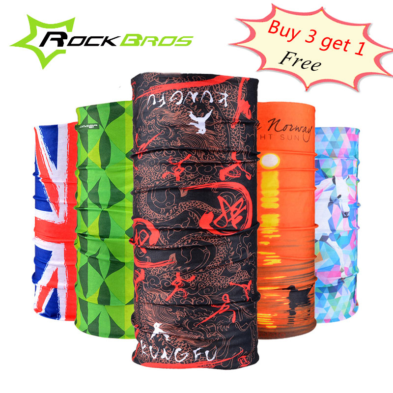 Rockbros atmungsaktiv radfahren stirnband winddicht bike Riding magic schal männer frauen warme polyester gesichtsmaske anti-sweat headwear